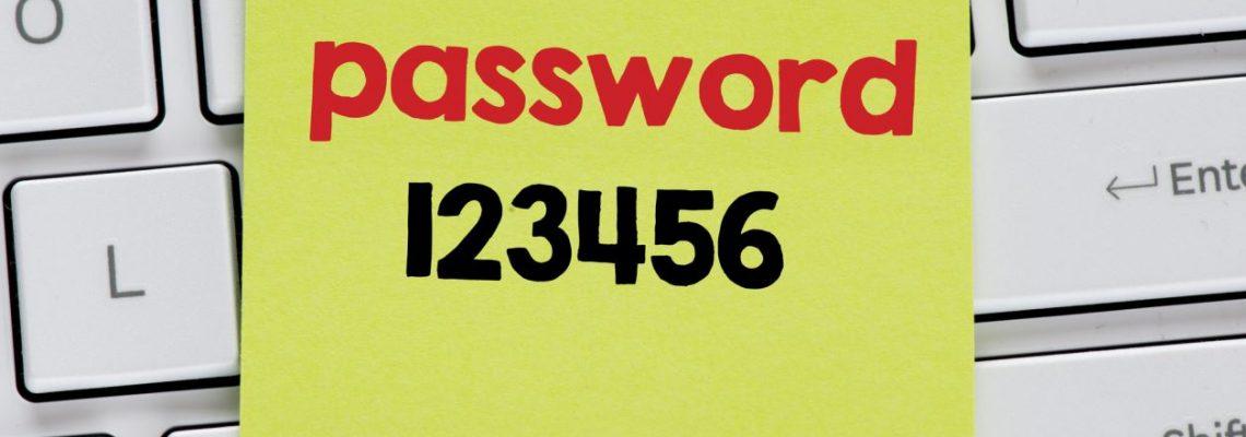 Unsicheres Passwort